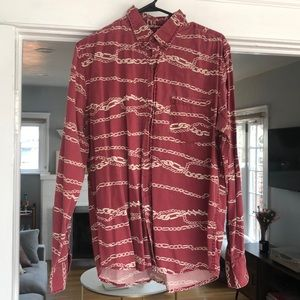 URBAN OUTFITTERS men's button up